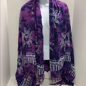 Batik Bali Scarf Wrap Sarong Cover-up Indonesia